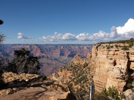 Looking back - South Rim