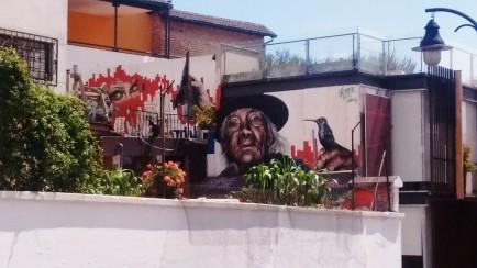 HIDDEN TREASURE - STREET ART ABOVE THE CENTRO HISTORICO
