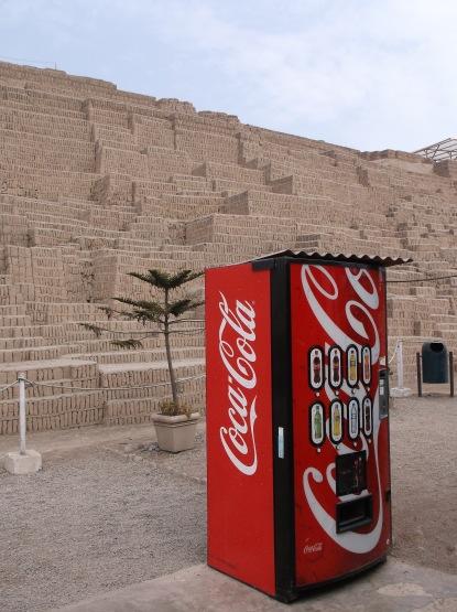 Why not an Inca Kola machine?