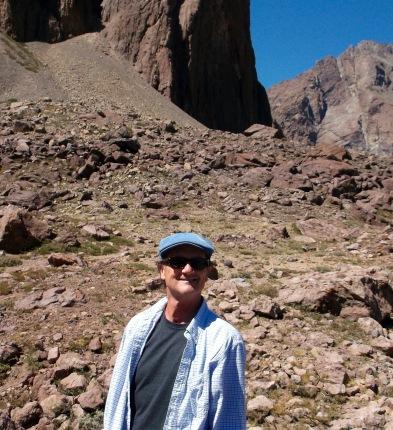 A happy Colorado guy in the Andes