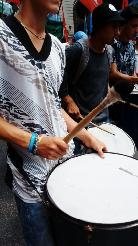 Told ya there were drums.
