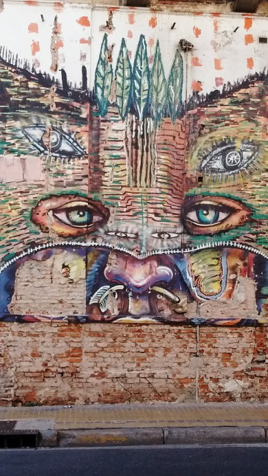 Amazing street mural