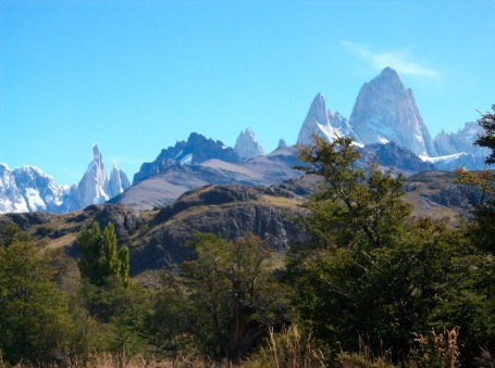 View of FitzRoy from Miradores Condores