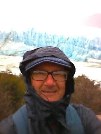 Glacier Photobombs Selfie.