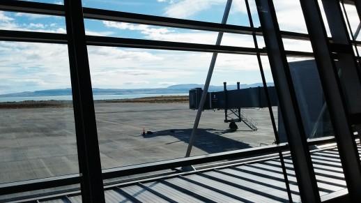 Airport at El Calafate.