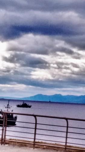 View Across the Beagle Channel - Ushuaia